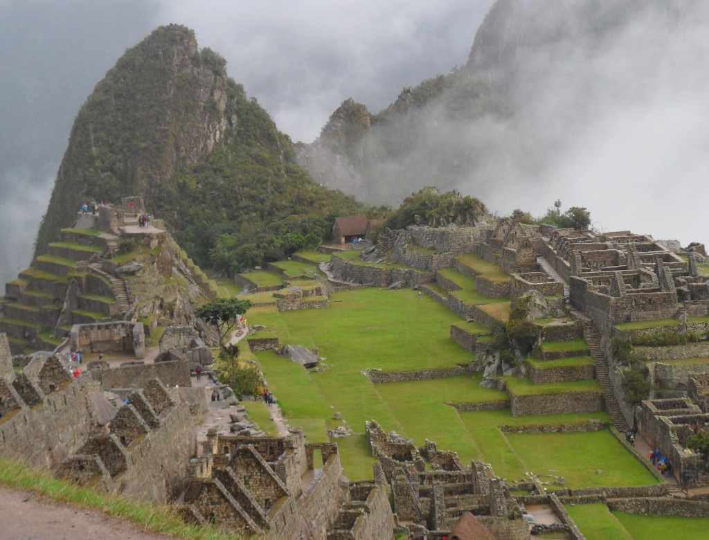 Machu Picchu in the morning before the crowds arrive