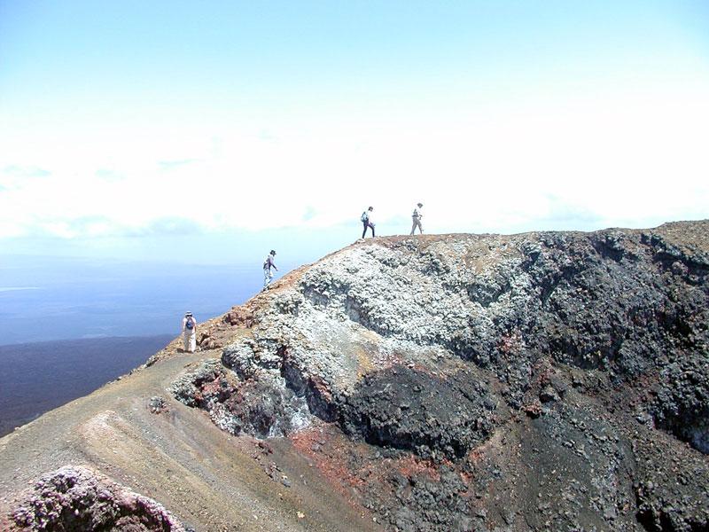 Trekking Chico Volcano on Isabela Island (Galapagos)