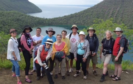 Angelito Galapagos Cruise guided naturalist walk