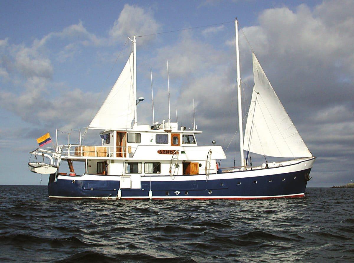 Samba Galapagos Cruise  Detour