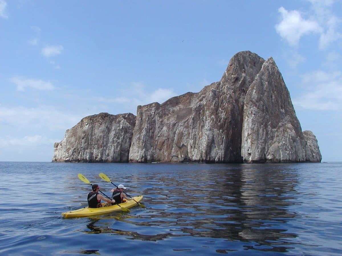 Kayaking on San Cristobal Island