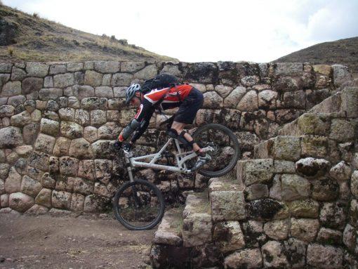 Biking Ruins near Cusco