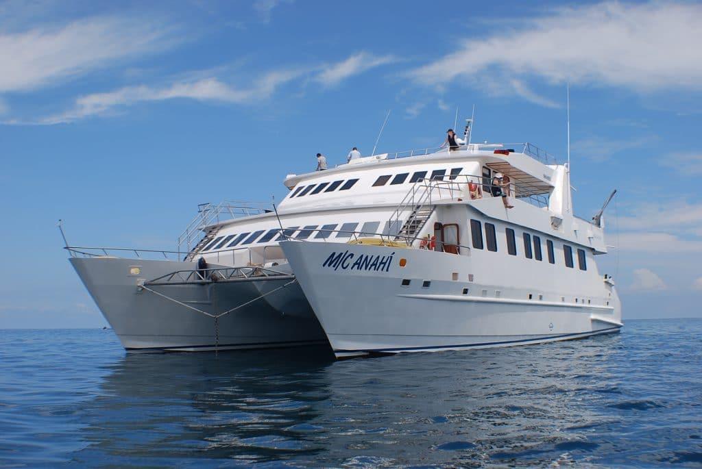 Anahi Galapagos Catamaran  Detour