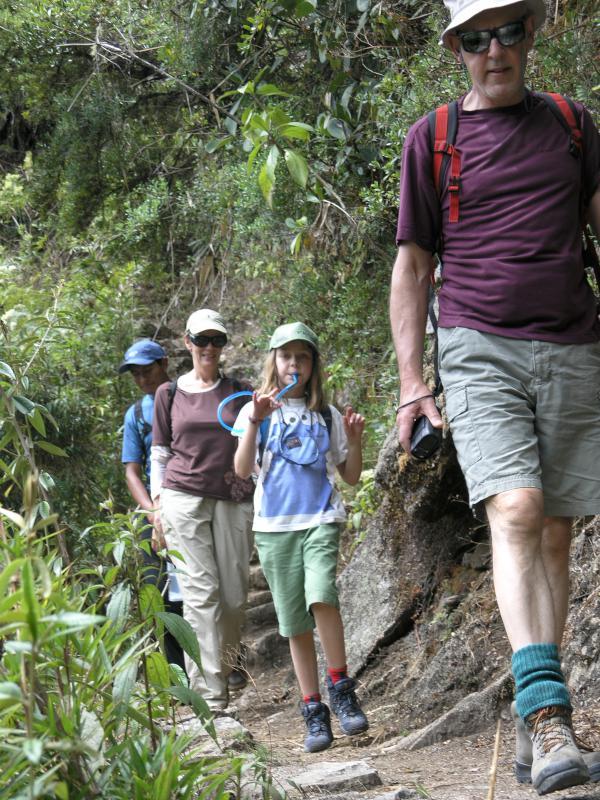 Last Day of Hiking the Inca Trail Trek