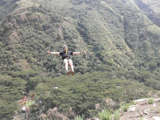 Ziplining the Sacred Valley