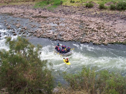 Rafting the Urubamba River, Sacred Valley Peru