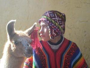 Boy & Llama