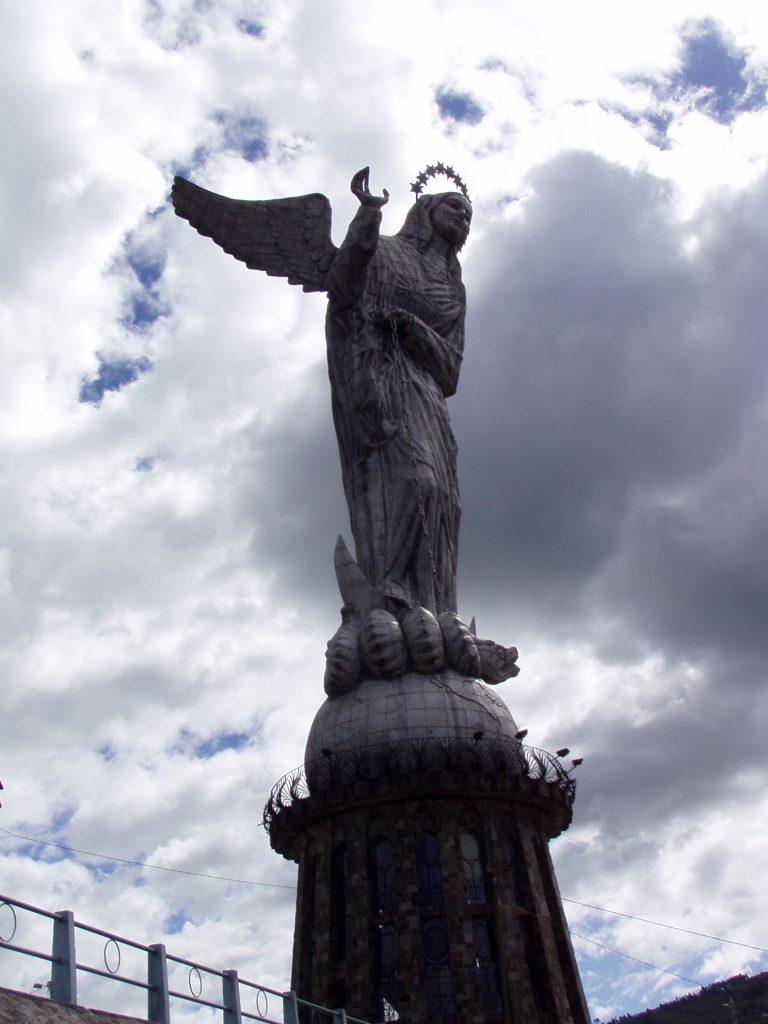 The Panecillo in Quito