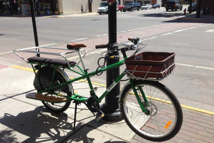 Detour's New Truck is a Yuba Cargo Bike