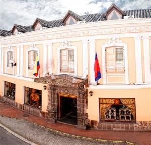 Hotel Patio Andaluz, Old Town, Quito, Ecuador
