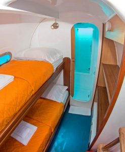 Nemo I: Cabin with bunk beds