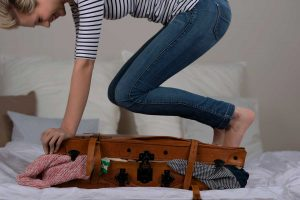 Packing Suitcase for a Trip