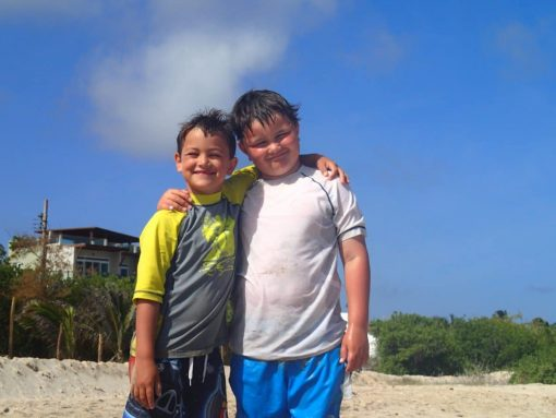 Brotherly Love in the Galapagos