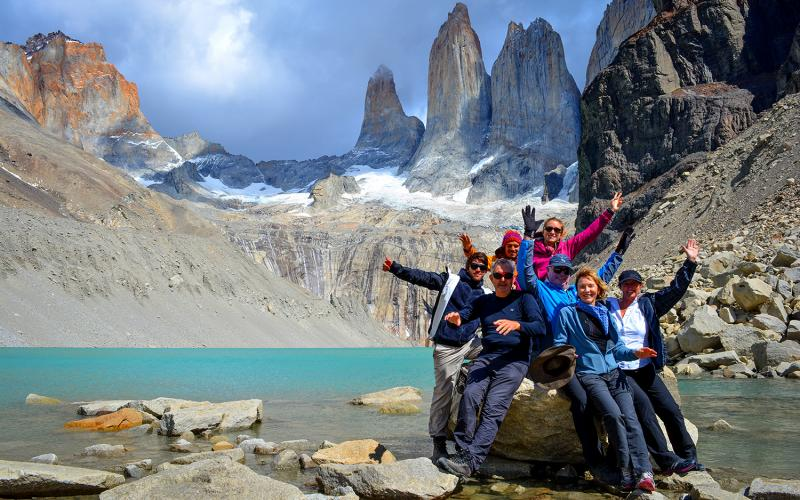 Circuito W Torres Del Paine Camping : Camping in torres del paine switchback travel
